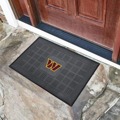 Washington Redskins Vinyl Door Mat