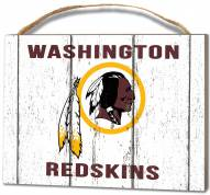 Washington Redskins Weathered Logo Small Plaque