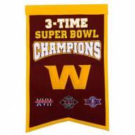 Washington Football Team Champs Banner