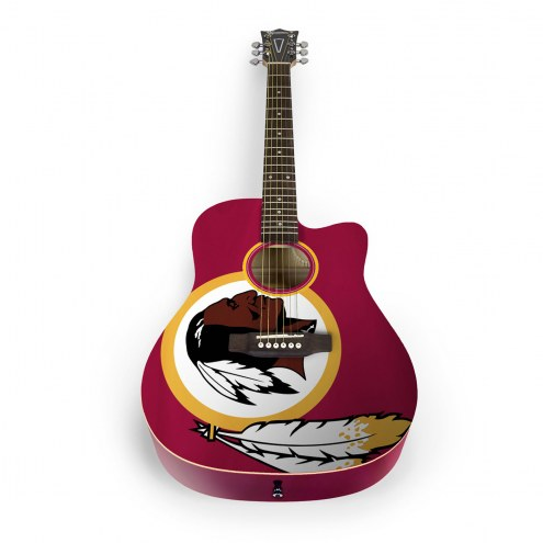 Washington Redskins Woodrow Acoustic Guitar