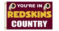 "Washington Redskins ""You're In Redskins Country"" Flag"
