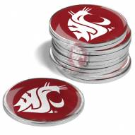 Washington State Cougars 12-Pack Golf Ball Markers