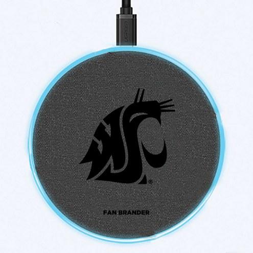 Washington State Cougars 15W Wireless Charging Base