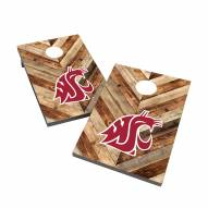 Washington State Cougars 2' x 3' Cornhole Bag Toss