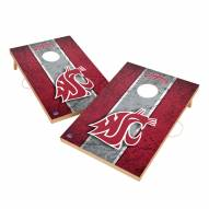 Washington State Cougars 2' x 3' Vintage Wood Cornhole Game