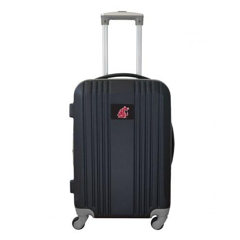"""Washington State Cougars 21"""" Hardcase Luggage Carry-on Spinner"""