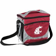 Washington State Cougars 24 Can Cooler