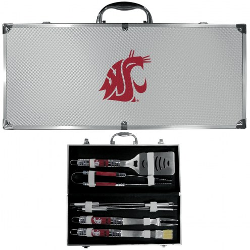 Washington State Cougars 8 Piece Tailgater BBQ Set