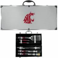 Washington State Cougars 8 Piece Tailgater BBQ Set