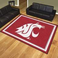 Washington State Cougars 8' x 10' Area Rug