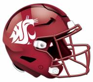 Washington State Cougars Authentic Helmet Cutout Sign