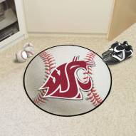 Washington State Cougars Baseball Rug