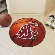 Washington State Cougars Basketball Mat