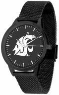 Washington State Cougars Black Dial Mesh Statement Watch