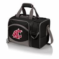 Washington State Cougars Black Malibu Picnic Pack