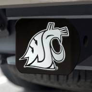 Washington State Cougars Black Matte Hitch Cover