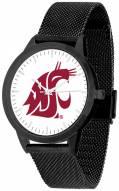 Washington State Cougars Black Mesh Statement Watch