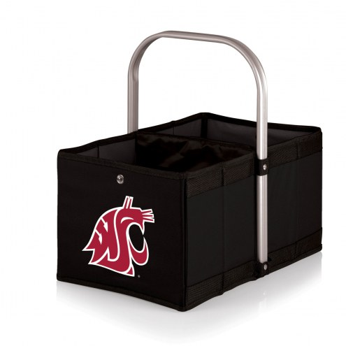 Washington State Cougars Black Urban Picnic Basket