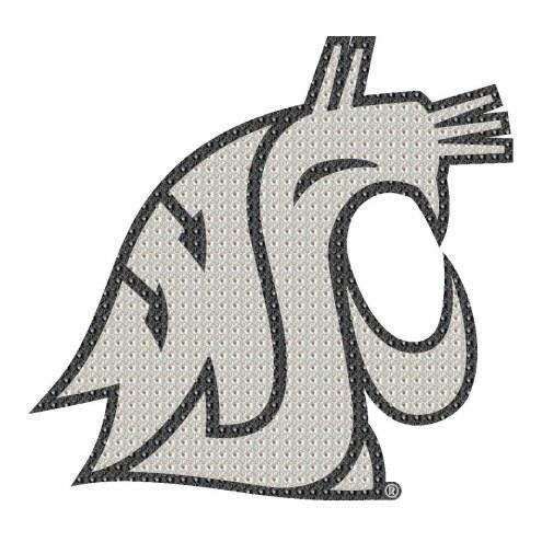 Washington State Cougars Bling Car Emblem