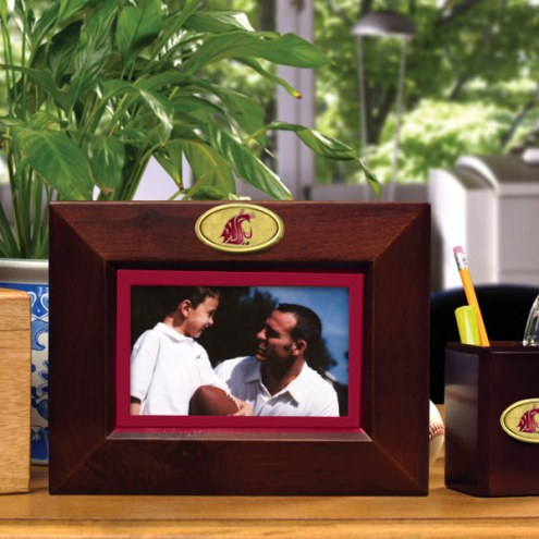 Washington State Cougars Brown Landscape Picture Frame