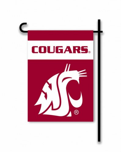 Washington State Cougars Garden Flag