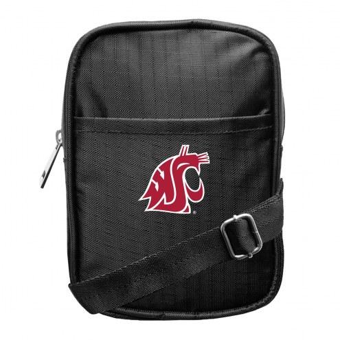 Washington State Cougars Camera Crossbody Bag