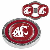 Washington State Cougars Challenge Coin with 2 Ball Markers