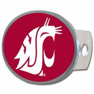 Washington State Cougars Class II and III Oval Metal Hitch Cover