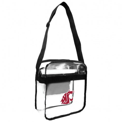 Washington State Cougars Clear Crossbody Carry-All Bag