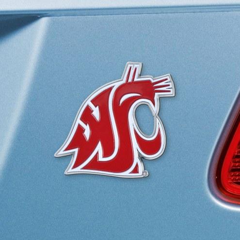 Washington State Cougars Color Car Emblem
