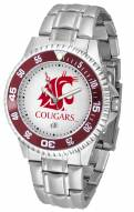 Washington State Cougars Competitor Steel Men's Watch
