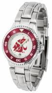 Washington State Cougars Competitor Steel Women's Watch