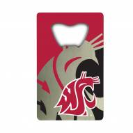 Washington State Cougars Credit Card Style Bottle Opener