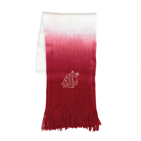 Washington State Cougars Dip Dye Scarf