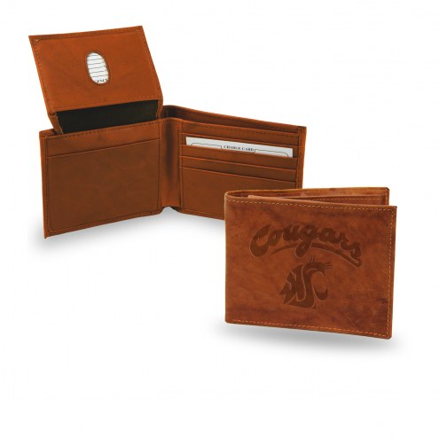 Washington State Cougars Embossed Bi-Fold Wallet