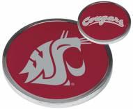 Washington State Cougars Flip Coin