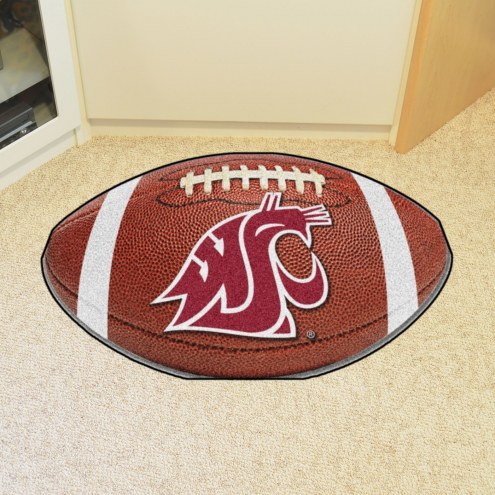 Washington State Cougars Football Floor Mat