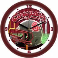 Washington State Cougars Football Helmet Wall Clock