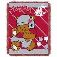 Washington State Cougars Fullback Baby Blanket