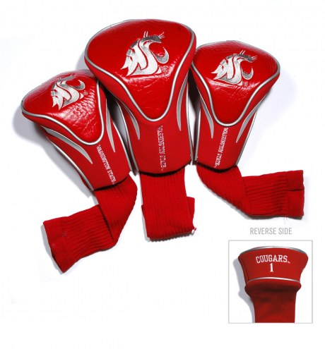 Washington State Cougars Golf Headcovers - 3 Pack