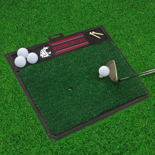 Washington State Cougars Golf Hitting Mat