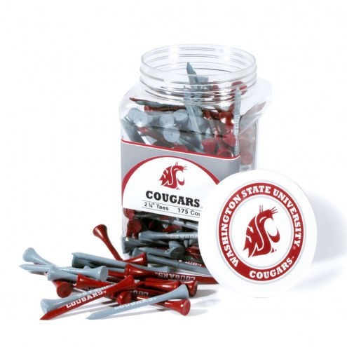 Washington State Cougars 175 Golf Tee Jar