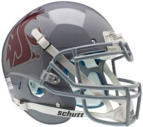 Washington State Cougars Grey Schutt XP Authentic Full Size Football Helmet