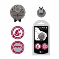 Washington State Cougars Hat Clip & Marker Set