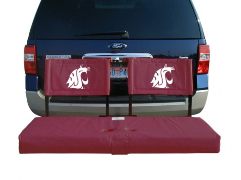 Washington State Cougars Tailgate Hitch Seat/Cargo Carrier