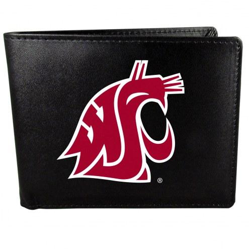 Washington State Cougars Large Logo Bi-fold Wallet