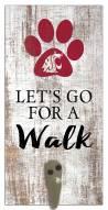 Washington State Cougars Leash Holder Sign