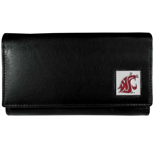 Washington State Cougars Leather Women's Wallet