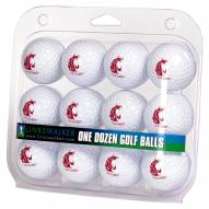 Washington State Cougars Dozen Golf Balls