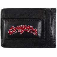 Washington State Cougars Logo Leather Cash and Cardholder